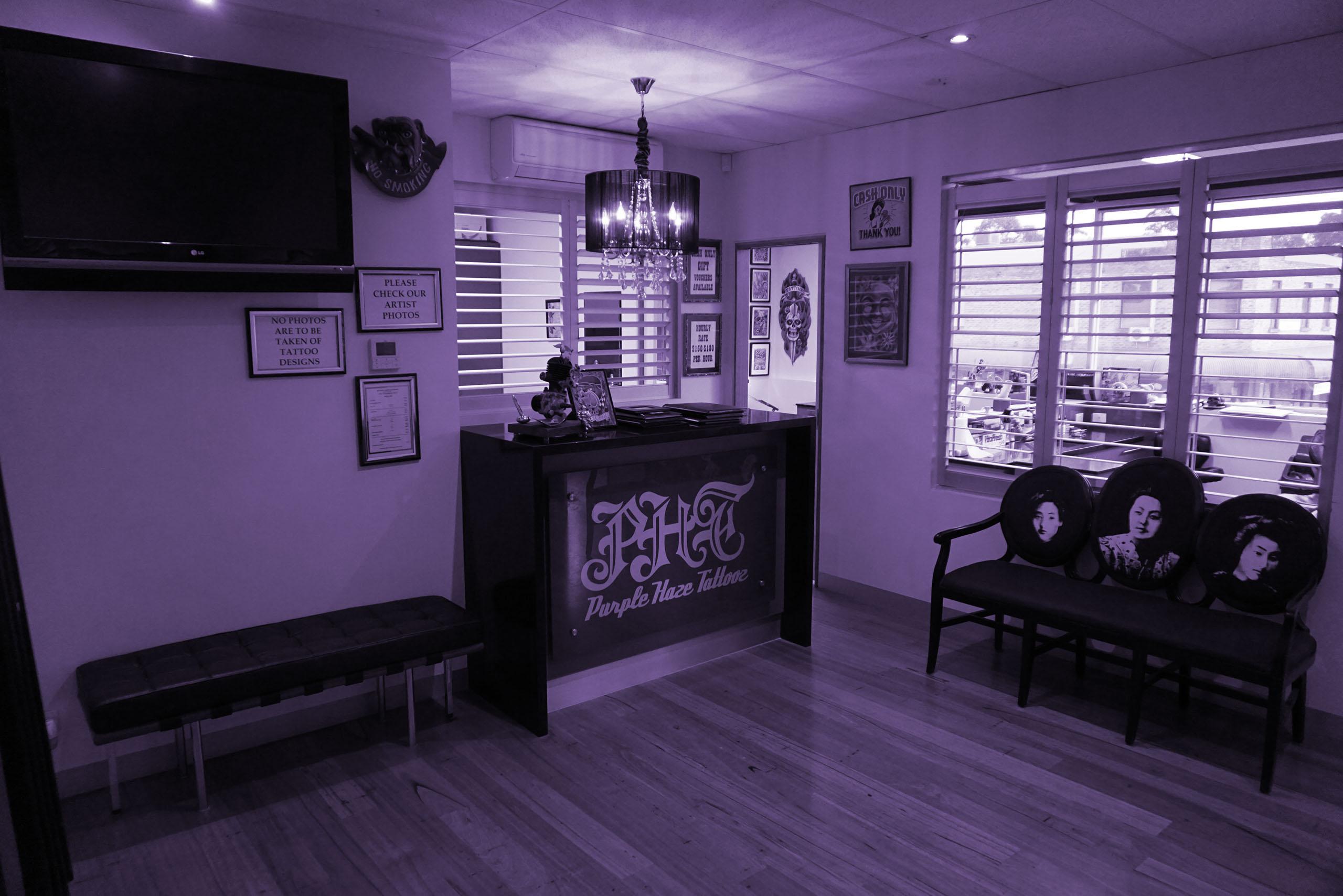 Purple haze tattooz beaconsfield narre warren melbourne for Association of professional tattoo artists